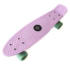 Скейт Пенни борд Penny Board 22 Lilac - Лиловый 54 см пеннi борд penny