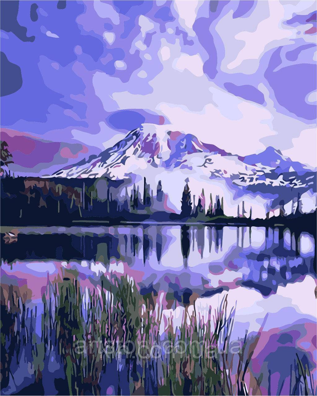 Картина по номерам ArtStory Озеро в горах 40 х 50 см (арт. AS0261)