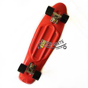Скейт Пенни борд Penny Board Nickel 27 Red - Красный 68 см пенни борд никель, фото 2