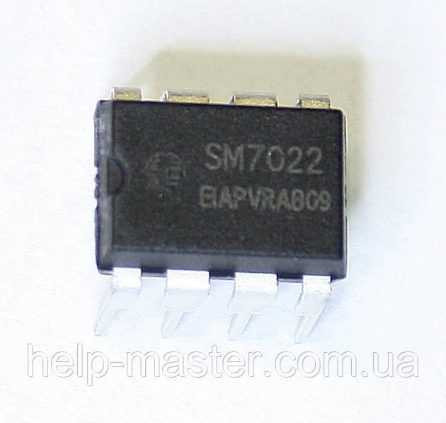 Микросхема SM7022 (DIP-8)