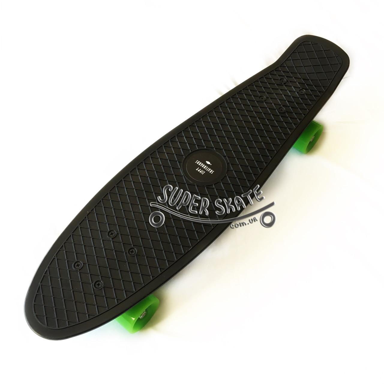 Скейт Пенни борд Penny Board Nickel 27 Black - Черный 68 см пенни борд никель