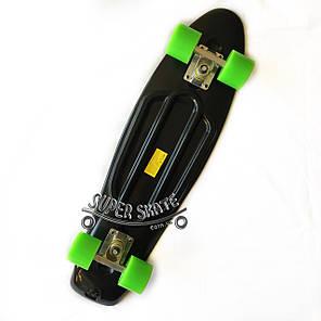 Скейт Пенни борд Penny Board Nickel 27 Black - Черный 68 см пенни борд никель, фото 2