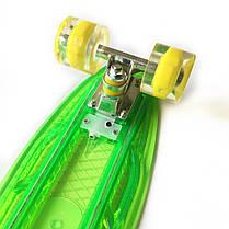 """Светиться весь Zippy Board LED 22"""" Green - Салатовый 54 см, фото 3"""