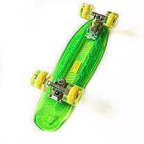 """Светиться весь Zippy Board LED 22"""" Green - Салатовый 54 см, фото 2"""