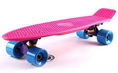 "Fish Skateboard 22.5"" Pink - Розовый 57см  пенни борд скейт"