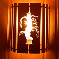 Декоративные светильники для сауны и парной
