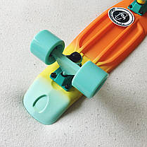 Скейт Пенни борд Penny Board Пенні Fish Skateboards Neptune  22 - Нептун 57 см Soft-Touch , фото 3