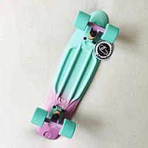 Скейт Пенни борд Penny Board Пенні Fish Skateboards  Peppermint  22 - Пепперминт 57 см Soft-Touch, фото 2