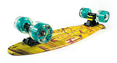 "Fish Skateboards LED Print Palms 22.5"" - Пальмы 57 см, фото 3"