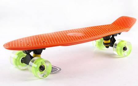 "Fish LED Orange 22"" - Оранжевый 57 см Светятся колеса, фото 2"
