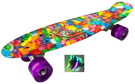 Скейт Пенни борд Candy 22 -  Пенні борд Кенди 54см, фото 2