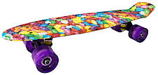 Скейт Пенни борд Candy 22 -  Пенні борд Кенди 54см, фото 3