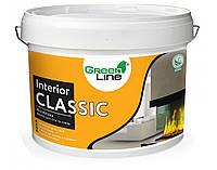 Интерьерная акриловая краска ТМ Green Line INTERIOR CLASSIC 5 л