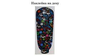 Скейт Пенни борд Penny Board Пенні Fish Skateboard 22.5 Dark - Темно-Бирюзовый 57см, фото 3