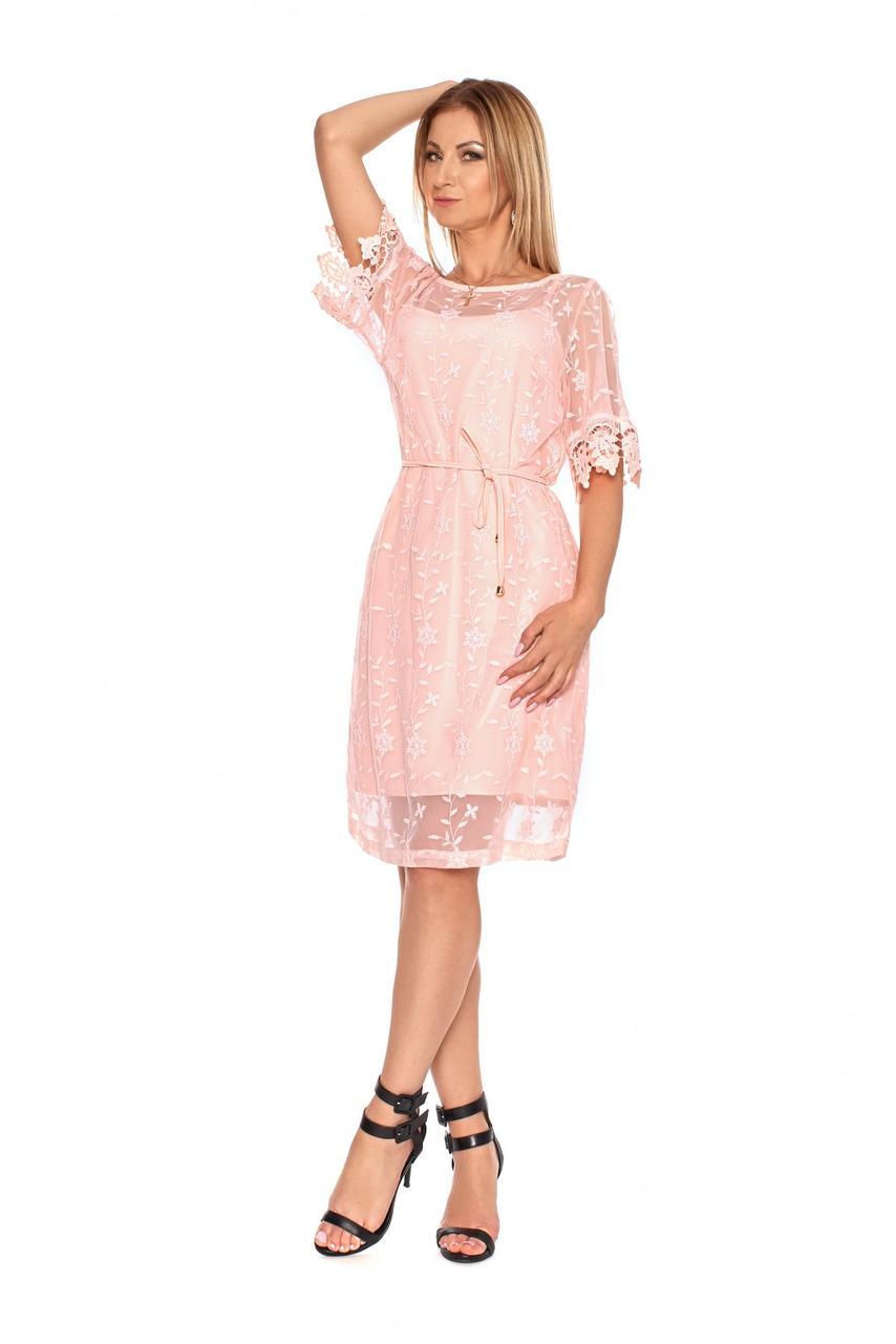 2c7a6182fab Я-Модна - купить Женское нарядное платье-двойка прямого покроя 1085 ...