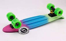 Скейт Пенни борд Penny Board Пенні Fish Skateboards Amazon 22,5 - Амазон 57 см Soft-Touch , фото 2