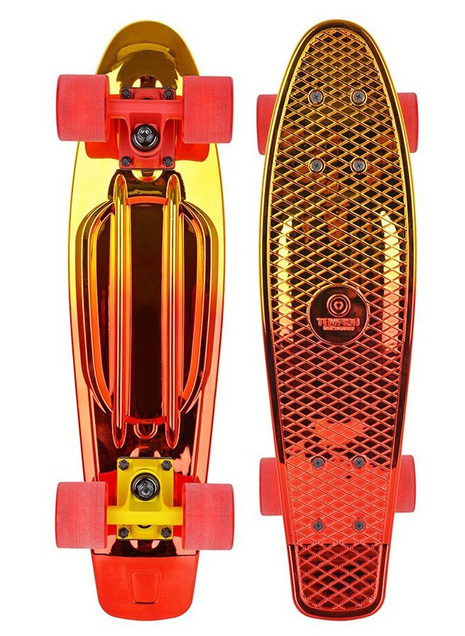 Скейтборд Пенни Tempish BUFFY Star /Ye-Red
