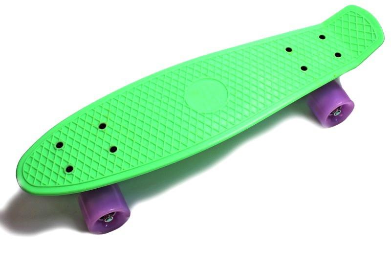 "Zippy Board LED 2.0 22"" Mint 54 см Светятся колеса матовые"
