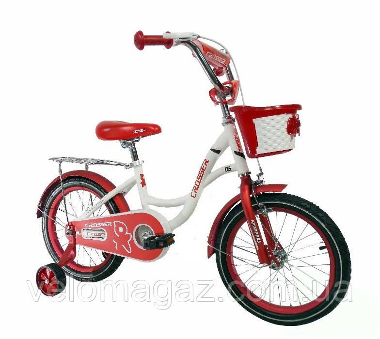 """Дитячий двоколісний велосипед Crosser JK-703 16"""""""