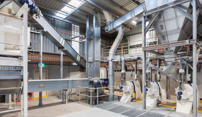 Оборудование для приготовления комбикормов (Дания)