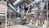 Комбикормовый завод, комбикормовая линия – оборудование для приготовления комбикормов (Дания)