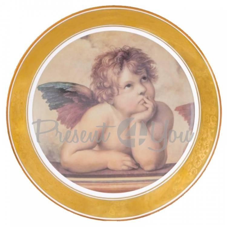 Декоративная тарелка «Ангел» Gloria, d-32 cм (264-3210A)