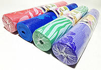 Коврик для йоги, фитнеса и аэробики 1730×610×4мм, PVC, BS, Print, однослойный