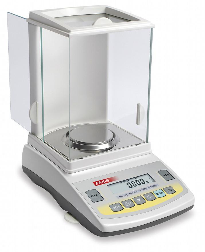 Весы аналитические электронные AXIS ANG220C (220 г, 0.0001 г)