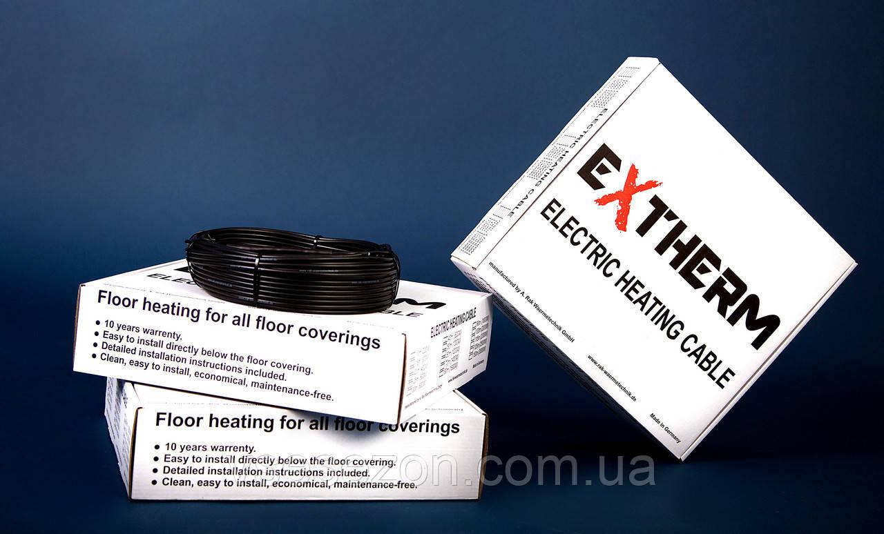 EXTHERM ETC ECO двухжильный нагревательный кабель для внутренней и внешней установки