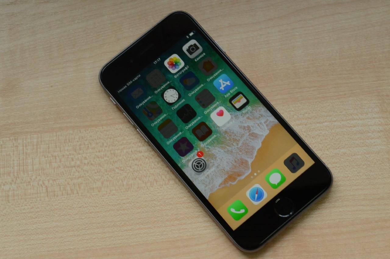 Apple iPhone 6s 32Gb Space Gray Neverlock Оригинал!