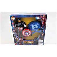 """Набор фигурка Капитан Америка и маска """"Мстители"""""""