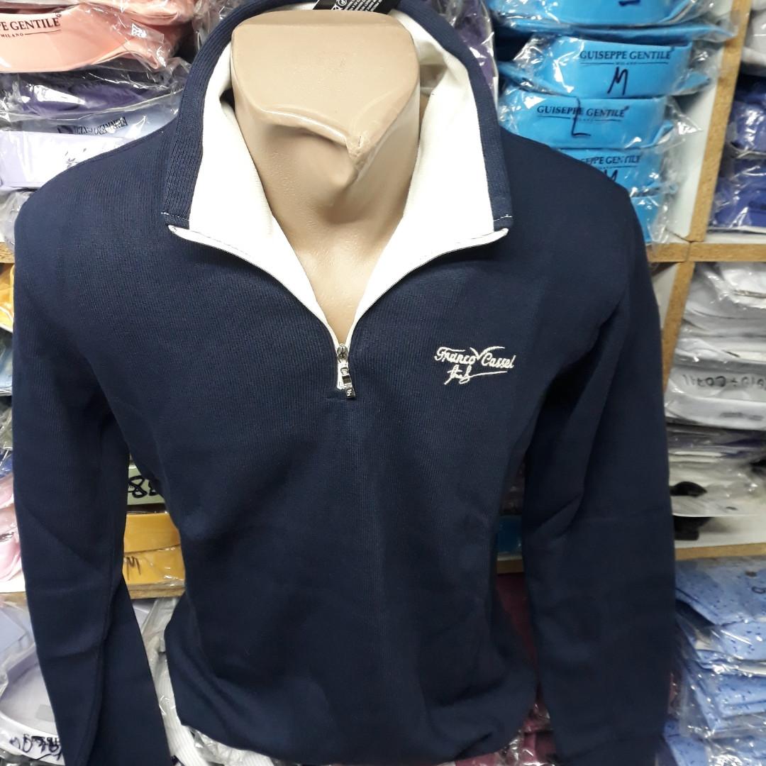 Трикотажная кофта рубашка-поло CASSEL (размер S,M,L,XL,XXL)