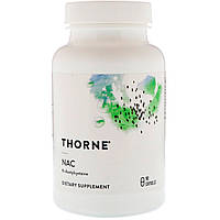 Thorne Research, NAC, 90 капсул