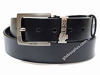 Ремень мужской кожаный DIESEL ширина 40 мм., реплика 930630