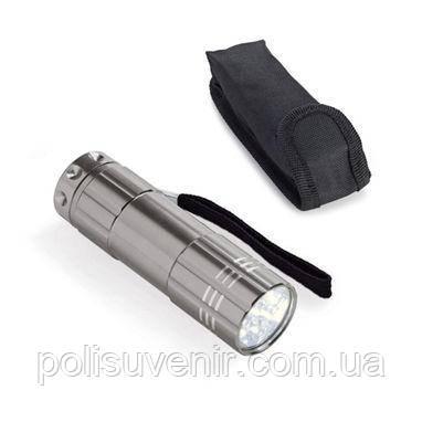 Ліхтарик алюмінієвий  з сумкою