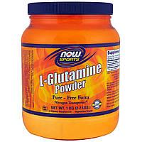 Now Foods, Спорт, L-глютамин, порошок, 35,3 унций (1 кг)