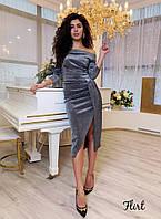 Нарядное платье с люрекса