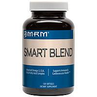 MRM, Smart Blend, комплекс жирных кислот омега-3, КЛК и ГЛК, 120 мягких таблеток