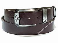 Ремень мужской кожаный Louis Vuitton ширина 40 мм., реплика 930633