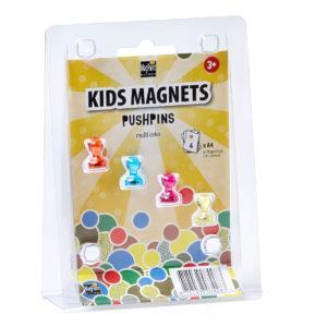 Набор магнитов MagPaint  Цветные пины 4шт