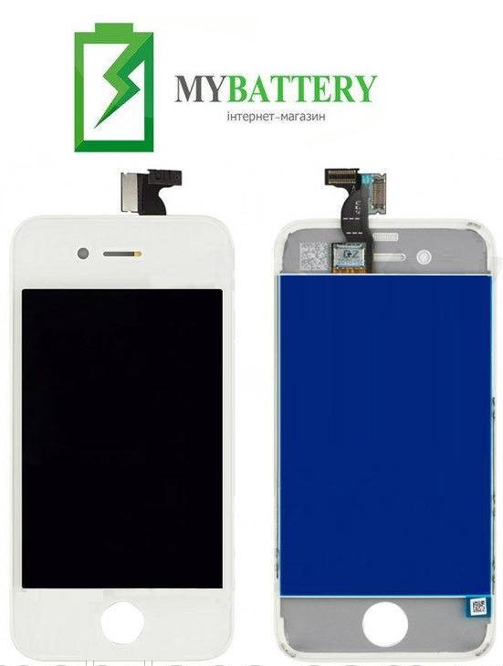 Дисплей (LCD) Apple iPhone 4 с сенсором белый