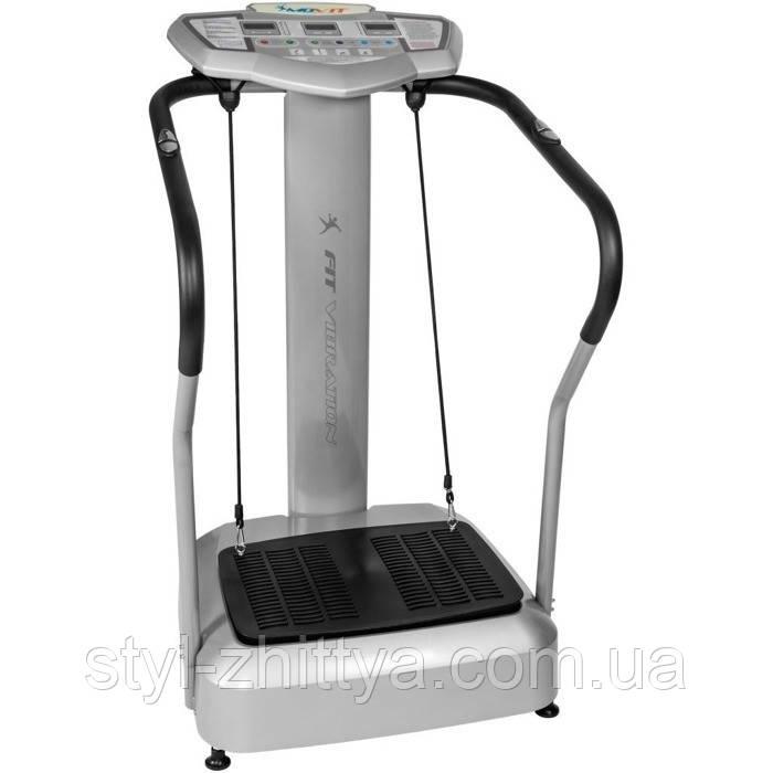 ПЛАТФОРМА Вібраційна Movit FIT, масажер / 150 кг