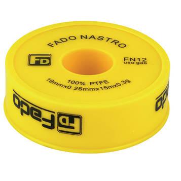 Фум-лента FADO для газопровода 19 x 0.25 мм x 15 м, FN12 (8008788010435)