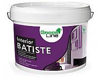 Латексна шовковисто-матова фарба ТМ Green Line INTERIOR BATISTE 5 л