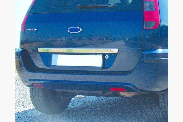 Накладка над номером (нерж.) Ford Fusion 2002-2009 гг.