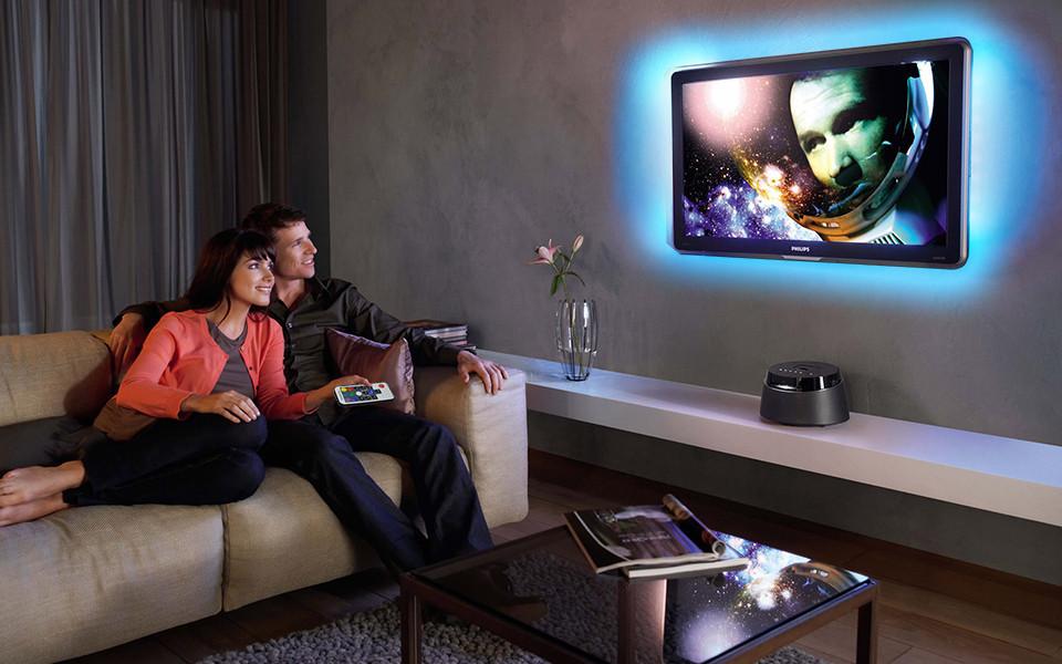 Светодиодная подсветка для телевизора 3м RGB SMD5050 USB c пультом ДУ