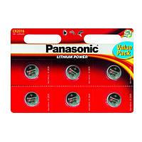 "Батарейка ""PANASONIC"" Lithium BLI CR 2016 (6 шт/уп)"