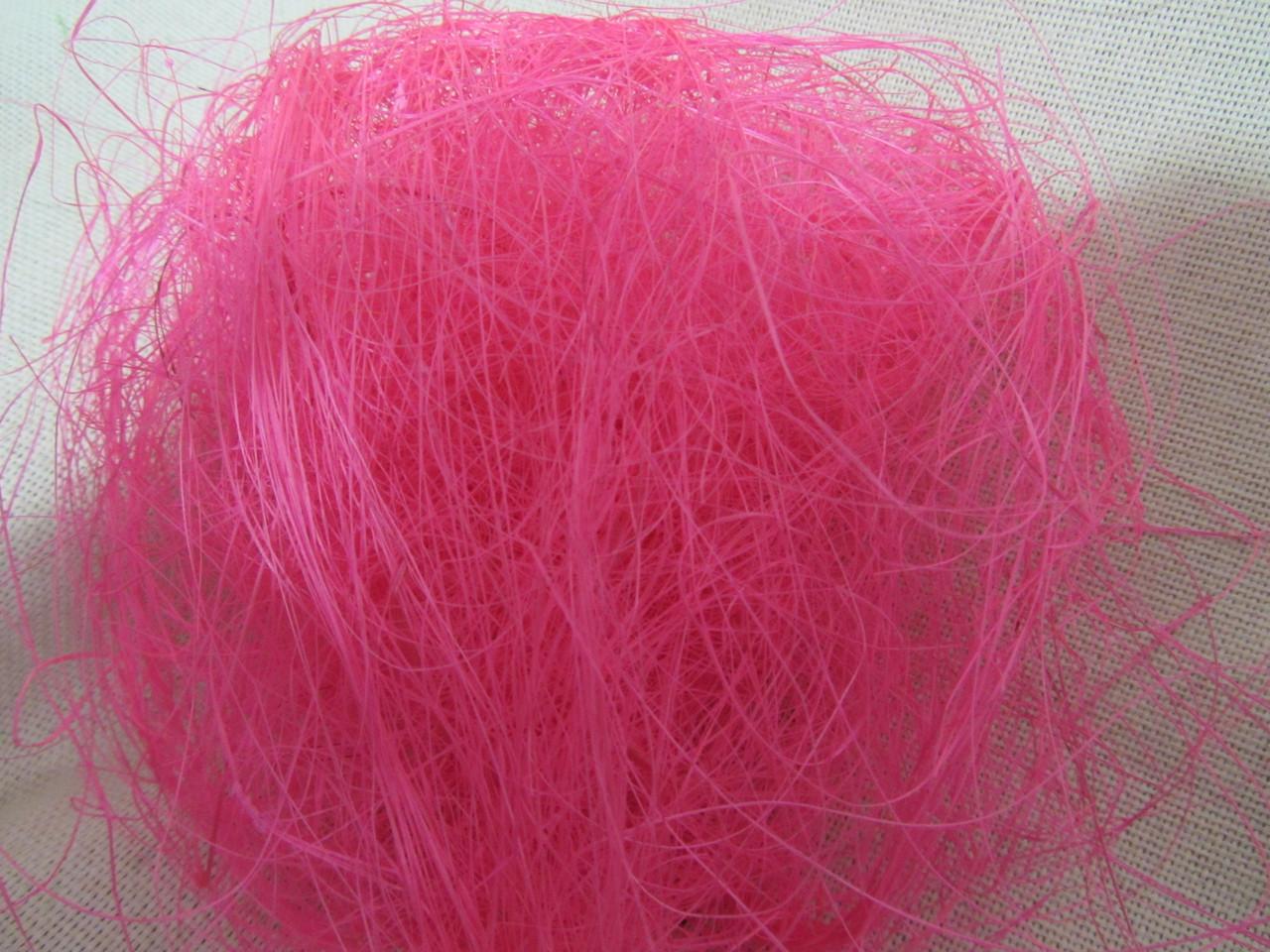 Сизаль розового цвета, (8/7) (цена за 1 шт. + 1 гр.)