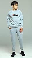 Теплый спортивный костюм мужской Fila, фила, фото 1