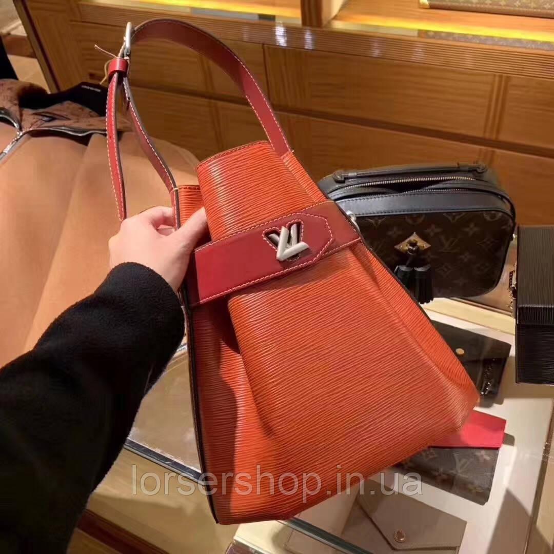 e71c6663971b Сумка Louis Vuitton TWIST BUCKET кожа, канва качество люкс : продажа ...
